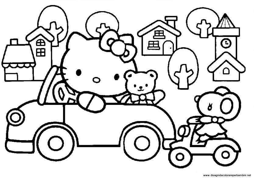 Disegni Hello Kitty Disegni Hello Kitty Da Colorare